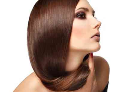 Salon 100 - Brazilian Keratin Treatment with Wash and Cut - Save 47%