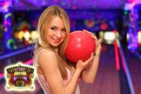The Dunes - Ladies bowling night inc 2 games of bowling, all you can eat buffet and wine - Save 54%
