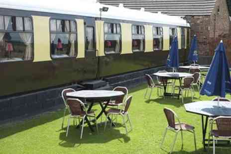 The Sidings - One or Two Nights in a Railway Carriage for Two with Breakfast and Two Course Dinner - Save 0%