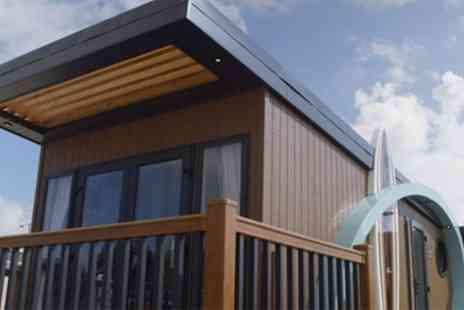Harrison Holidays - One or Two Night Stay in a Glamping Harripod or Hive for Up to Four - Save 0%