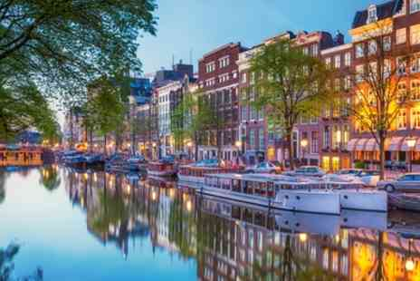 Crystal Travel - Two to Four Nights Stay at Choice of Hotels with Return Flights and Optional Canal Cruise and Van Gogh Museum Tour - Save 0%