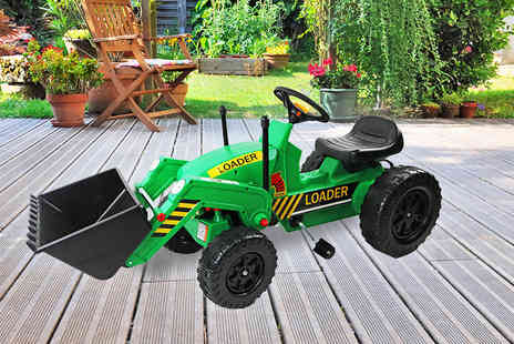 Who Needs Shops - Childrens green pedal tractor - Save 72%