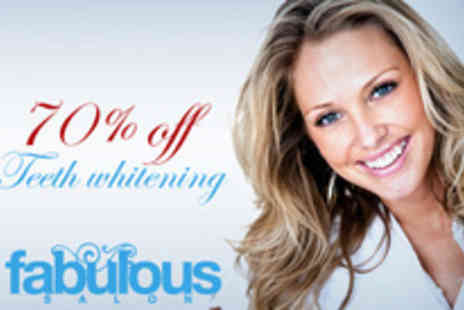 Fabulous Salon - Teeth whitening treatment - Save 70%
