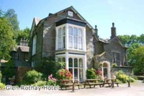 The Glen Rothay Hotel - Two night Lake District break for 2 inc. spa day passes and breakfast - Save 59%