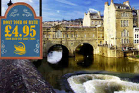 Bath City Boat Trips - Sail away this summer with a riverboat tour of Bath - Save 50%