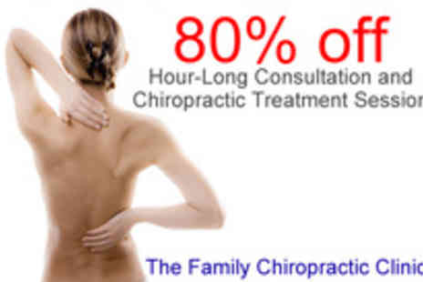 The Family Chiropractic Clinic - Kiss aches and pains goodbye - Save 80%