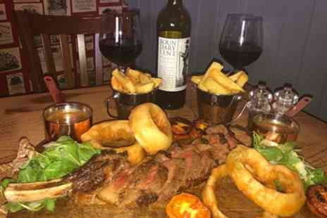 The Gray Ox Inn - Sirlion Steak with Sides or Tomahawk Sharing Board with Wine - Save 36%