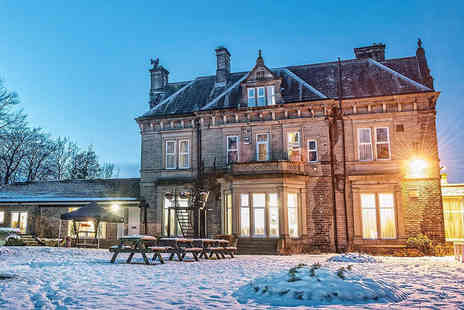 Durker Roods Hotel - One, two or three night Yorkshire country house stay for two people with breakfast, two course dining and wine - Save 49%