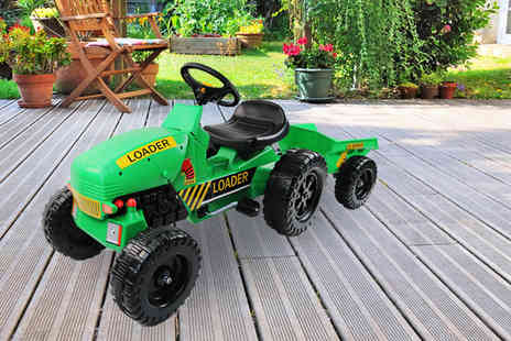 Who Needs Shops - Childrens pedal ride on tractor - Save 71%