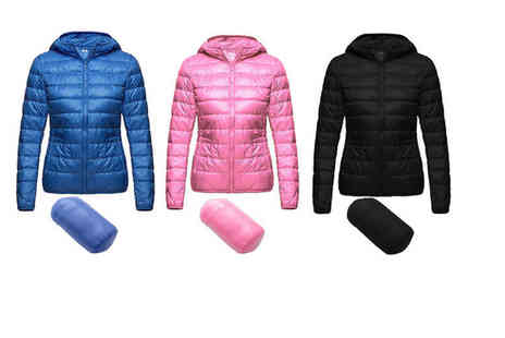 Boni Caro - An ultra light packable puffer jacket choose from four colours - Save 75%