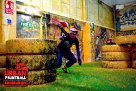 Urban Paintball - Three hours of indoor paintballing for up to 4 people - Save 94%