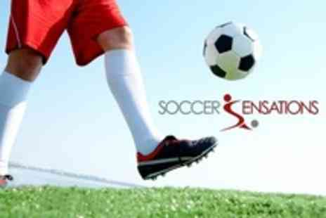 Soccer Sensations - Three Day Childrens Football Summer Camp With Lunch for two children - Save 65%