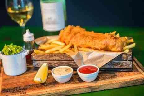 The Whalebone Inn - Medium or Large Fish with Unlimited Chips for Up to Four - Save 0%