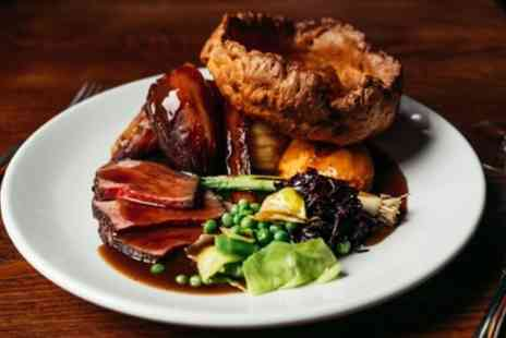 The Royal Oak - Sunday Roast for two or Four - Save 33%