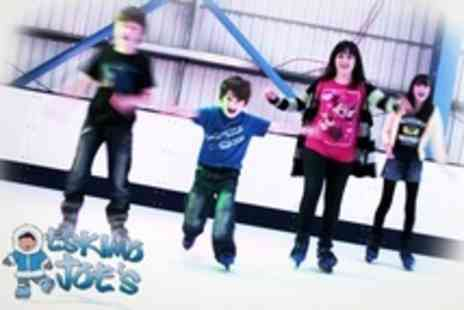 Eskimo Joes - Ice Skating and Soft Play Five Family Passes - Save 85%