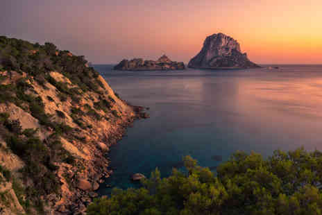 Bargain Late Holidays - Three, Five or Seven night half board Ibiza getaway with return flights - Save 37%