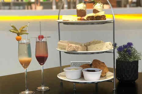 Marco Pierre White Steakhouse - Festive afternoon tea for two people with a cocktail each - Save 67%