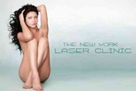 The New York Laser Clinic - Six Laser Hair Removal Treatments On Two Medium Areas - Save 69%