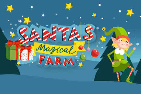 Greenacres Animal Park - Two or family of four tickets to Santas Magical Farm - Save 50%