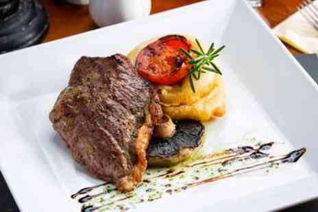 We Three Loggerheads - Two Course Meal with Optional Wine for Two or Four - Save 44%