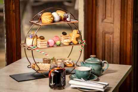 Wood Norton Hall Hotel - Festive Afternoon Tea with Wine, Cocktail or Champagne for Two or Four - Save 37%