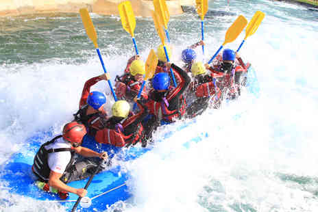 Virgin Experience Days - White Water Rafting on Olympic Course with Olympic Champion Etienne Stott - Save 17%