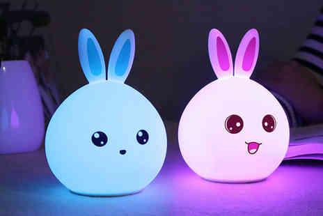 Charles Oscar - Colour changing rabbit night light - Save 73%