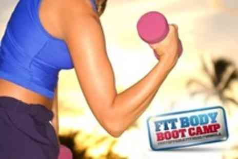Fit Body Boot Camp - Indoor Boot Camp Four Weeks Worth of  Sessions with Fit - Save 85%