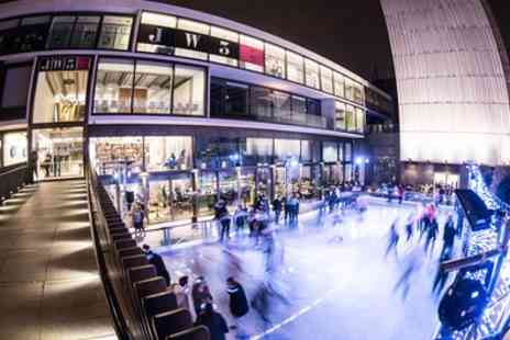 JW3 On Ice - Festive Ice Skating for Up to Four Adults or One or Two Children with Optional Penguin - Save 50%