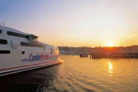 Condor Ferries - Guernsey and Jersey Ferry Return Day Trip Departing From Poole for One Child Foot Passenger - Save 50%