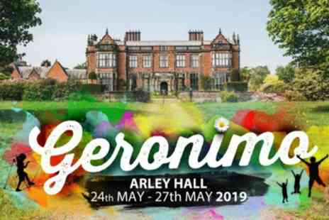 Geronimo Festival 2019 - One, four or six day tickets to Geronimo Festival with optional car park entry on 27 May 2019 - Save 55%