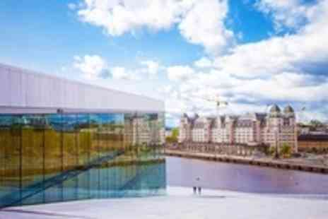 Viva Holidays - Oslo: Two or Three Night Stay For Two With Flights and Breakfast from £209 Per Person at the Scandic KNA or the Hotel Bastion (Up to 40% Off) - Save 28%