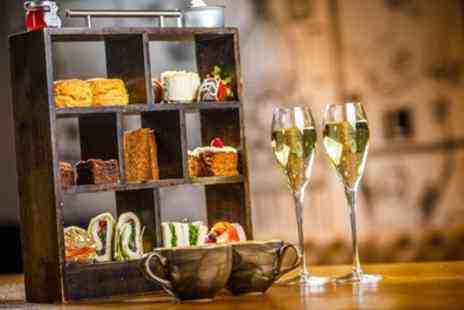 FireLake Grill House & Cocktail Bar - Four Star Festive Mulled Wine Afternoon Tea for Two or Four - Save 49%
