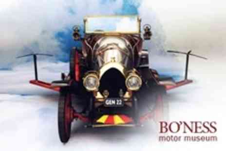 Boness Motor Museum - Entry For Family of Four - Save 50%