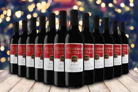 Q Regalo - 12 bottles of Heredad De Altillo red wine - Save 60%