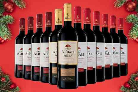 Q Regalo - 12 bottles of Viña Albali Spanish red wine - Save 67%