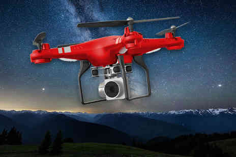 Wow What Who - RC Drone with 4K wide angle camera - Save 79%