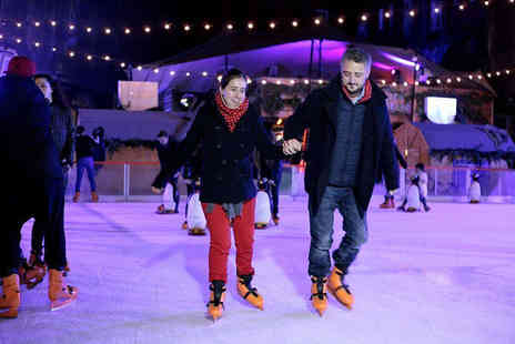 Manchester Ice Rink - Ice skating for two people including skate hire - Save 35%