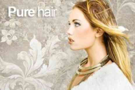 Pure Hair - Cut or Restyle Plus Conditioning Treatment Plus Full Head Highlights or Colour - Save 71%