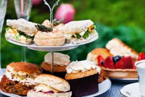 Rossett Hall Hotel - Afternoon tea for 2 with bubbly in North Wales - Save 47%