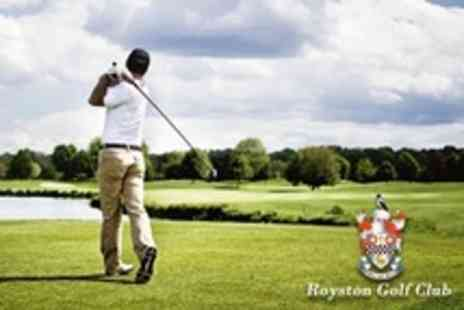 Royston Golf Club - 18 Holes of Golf For Two With Bacon Roll and Coffee Each - Save 72%