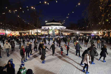 Paisley First Winterfest - Entry to Paisley Winterfest for one child with an ice skating session and Big Wheel ride - Save 62%