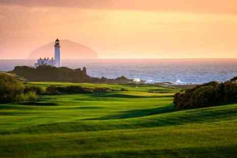 Trump Turnberry Resort - Nine or 18 Holes of Golf with Golf Lesson for Two - Save 54%