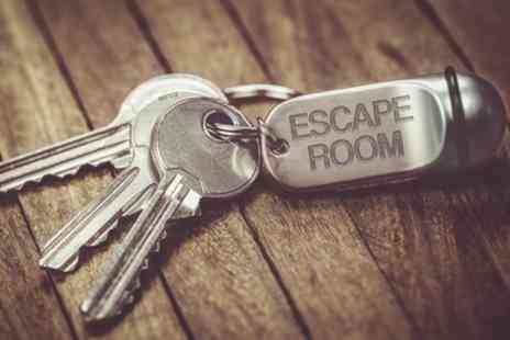 Hysteria Escape Rooms - Escape Room Game for Four, Five or Six - Save 53%
