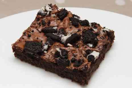 The Brownie Bar - Brownies with Drinks for Two or Four - Save 49%