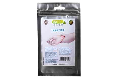 Groupon Goods Global GmbH - One, Two or Three Packs of Hemp Patches - Save 57%