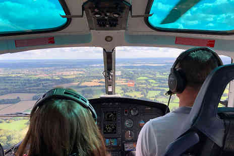 Virgin Experience Days - Surrey Countryside and London Skyline Helicopter Sightseeing Tour for Two - Save 0%