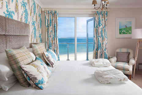 The Carbis Bay Hotel - One Night Escape in a Luxury Junior Beach Suite for Two - Save 18%
