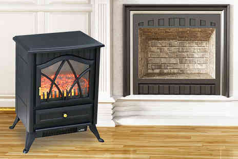 Who Needs Shops - Flame effect electric heater - Save 72%