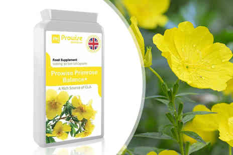 Prowise Healthcare - Three month supply of evening primrose balance plus supplements - Save 0%